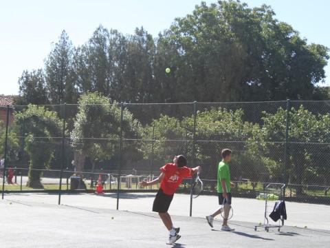 Saque de tenis