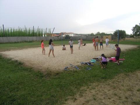 Practicando Volley